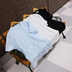 LiSS《スプラッシュペイントTシャツ》3色☆