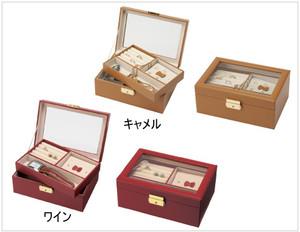 窓付き2段宝石箱 キャロルコレクション 1個単位 JB-880