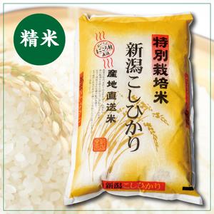 有機低農薬コシヒカリ 精米10kg(平成30年産)