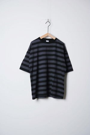 UNISEX CREW Tee border/OF-C001B