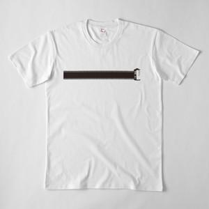 カメラフィルム ロール Tシャツ(白)
