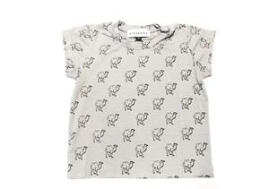 【20SS】arkakama (アルカカマ) VISCOSE SS Tee (kids)【ラクダ】S,M,L Tシャツ