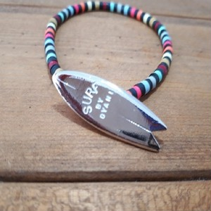 "NO WAVE NO LIFE+ / COLORS ""ALOHA & SURF"" BEADS Bracelet by DYANI"