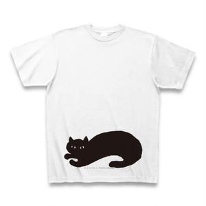 ネコロブネコ Tシャツ ホワイト