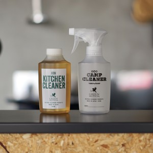 ECO CAMP CLEANER 空ボトル&リフィルセット