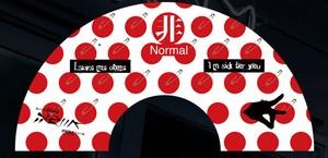 「非Normal」扇子