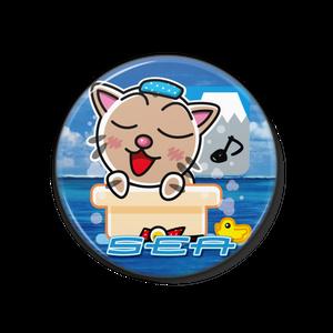 <缶バッチ 38mm>お風呂みーちゃん