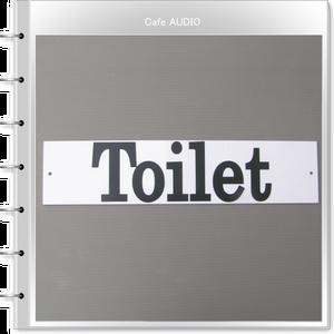 新品 店舗用 手作り看板 大きなトイレ看板 綺麗な白のアクリル製 看板 業務用