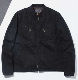 TROPHY CLOTHING / 2906 / BLACKIE DENIM RIDERS JACKET