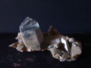 パールヴァティ産 ヒマラヤ水晶 クラスター QUA1803-019