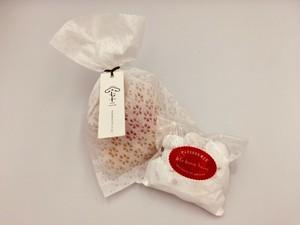 アラボンヌーアーモンドボール*スノーボール(和紙袋入り)
