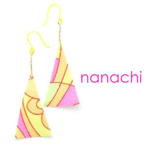 オリジナル布ピアス♪          かわいい沖縄の雑貨【送料無料】