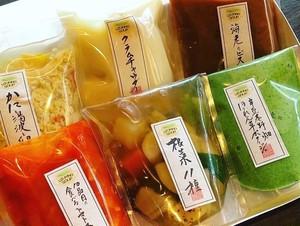 【宇豆基野スープ6種セット】贈り物にも最適!冷凍で長期保存可能