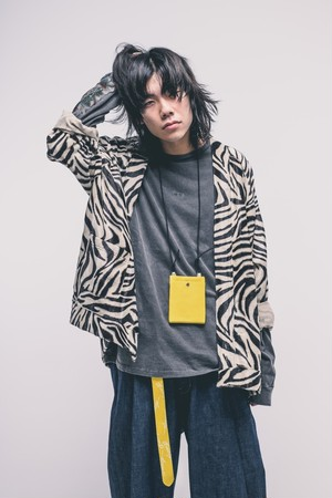 EFFECTEN(エフェクテン) animal GATHER CARDIGAN