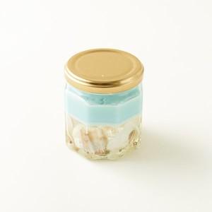 【イランイランの香り】貝殻ジェルキャンドル