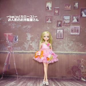 リカちゃんミニドレス(ピンク3)