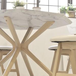 Marble Dining Table 1100 / 大理石モダンスタイル 大理石調 ダイニングテーブル 1100