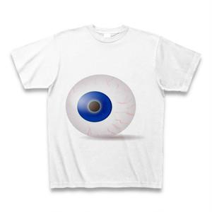 目玉に見られているTシャツ 個性派のあなたに!派手、珍しいTシャツ