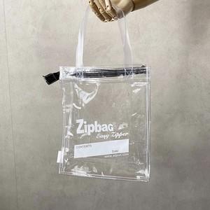 Zip bag  / WHITE 【Aquvii】