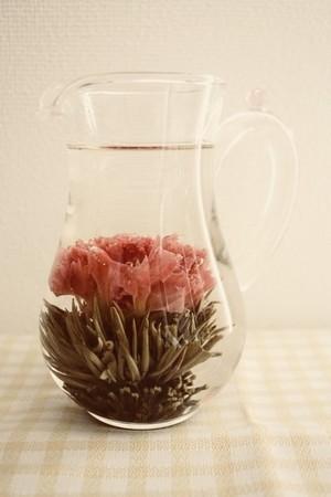【中国茶・工芸茶 】花咲くお茶 カーネーションと金木犀 20粒