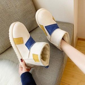 【shoes】裏起毛厚くてお流行りブーツ 24134179