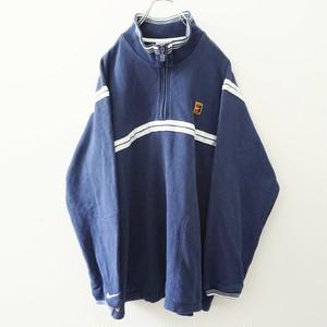 90s NIKE zip-up sweat-shirt
