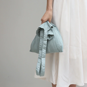 Pleated tote bag プリーツ トート バッグ