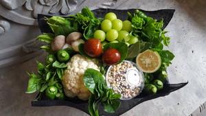 京野菜アレンジメント/ecovegarrangement+雑穀米350g