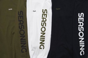SEASONING SEASONING LS TEE / SE18W-CT06