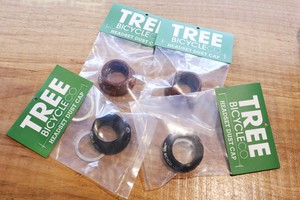 TREE BICYCLE CO. HEADSET DUST CAPS