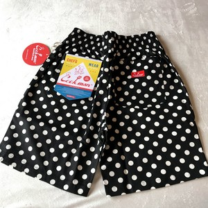 COOKMAN / クックマン : CHEF SHORT PANTS Dots