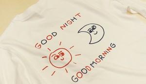GOOD NIGHT GOOD MORNING ロングスリーブTシャツ