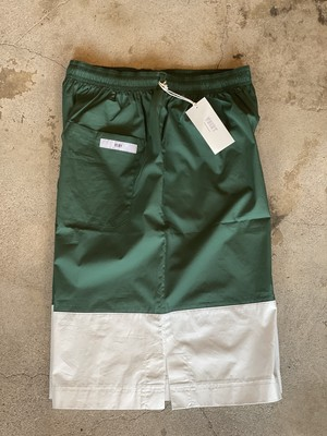 VOIRY D.P SHORTS-21A GREEN/WHITE