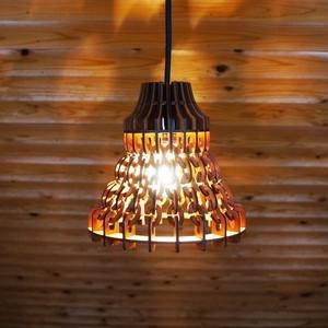 「ニット」木製チェーンペンダントライト
