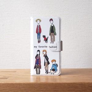 my fashion 手帳型スマホケース #iPhoneXs/XR対応
