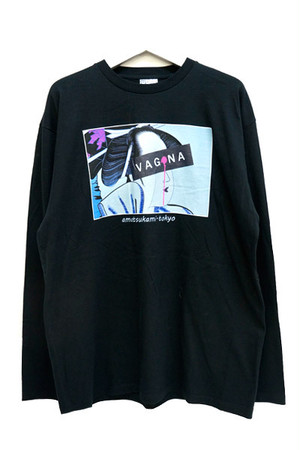 遊女 Long T-shirts (Black)