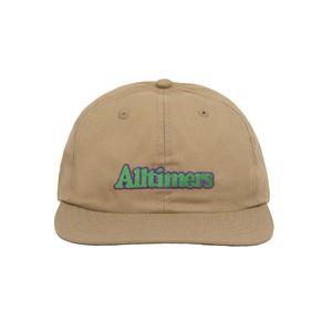ALLTIMERS / BROADWAY CAP -KHAKI-