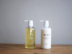 【2本セット】髪を本気で良くすることだけを考えたシャンプー&コンディショナー 12/JU-NI(ジューニ) / 木村石鹸