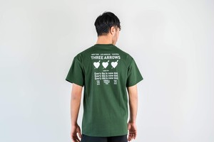 【7/8(wed)21:00販売開始】Three Heart S/S TEE (green)