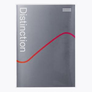 【数量限定】Distinction II 限定ブックカバー