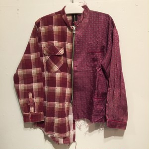 【OLD PARK】2FACE SHIRT PAJAMA×FLANNEL OP-115 (No : 990011)