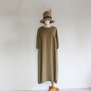 C71077 Tencel/Linen Effortless Dress  (ほっこりワンピース)