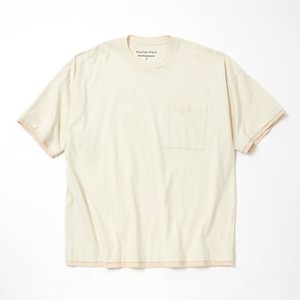LAYERED WIDE T-SHIRT - IVORY