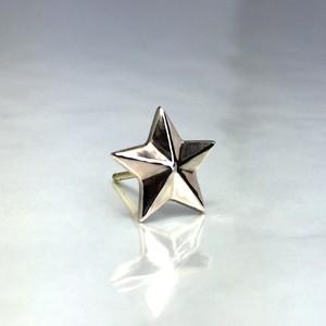 STAR STUD PINK SILVER / スターピアス ピンクシルバー