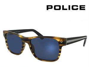 ポリス サングラス police spl165m 0794 スクエア メンズ ウェリントン べっ甲