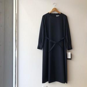 atelier naruse フォーマルAラインワンピースドレス ネイビー 38