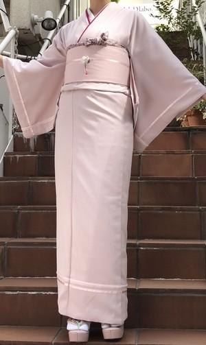 マカロン着物 ピンク b