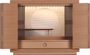 モダン仏壇 タモ