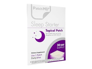 【(PatchMD) スリープスタータ―】 眠りの質を向上し、快適な眠りをサポートするパッチ型サプリメントです。