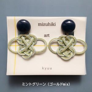 kyuuのmizuhiki artイヤリング <あわじアレンジ>